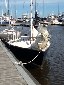 Friday, August 8, 2013, the Adelante is ready to set sail.
