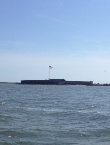 Fort Sumter from the Adelante.